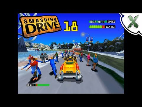Smashing Drive (Playable at Full Speed!) - Cxbx-Reloaded Microsoft XBOX Emulator - 동영상