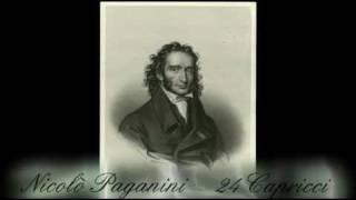 Nicolò PAGANINI - Capriccio  n°2 - 24 Capricci - Violino: Shlomo Mintz