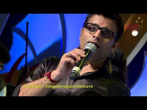 """Nanna Jeeva Ninu"" song by M D Pallavi & Ajay Warriar @ 53rd Bengaluru Ganesh Utsava...!!!"