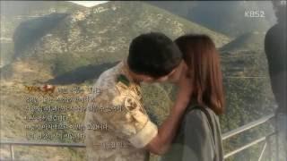 Song Joong Ki Song Hye Kyo Kiss Scene BTS Behind The Scene DOTS 송중기 송혜교 태양의 후예 키스 장면 뒤에