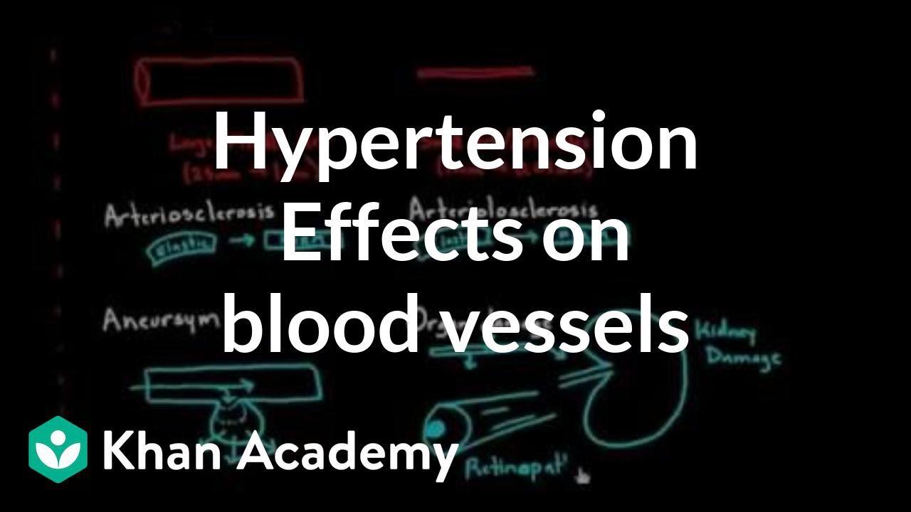 Results of hypertension