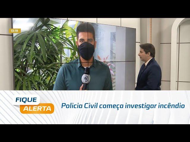 Policia Civil começa investigar incêndio ocorrido na sede do Bolsa Família em Arapiraca