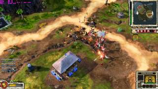 Red Alert 3 Brutal Empire uprising skirmish