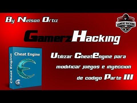 Como Usar Cheat Engine para modificar juegos + inyección de código - Parte 3