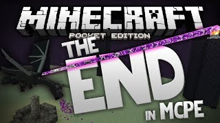 THE END & ENDERDRAGON in MCPE!!! - The End Mod - Minecraft PE (Pocket Edition)