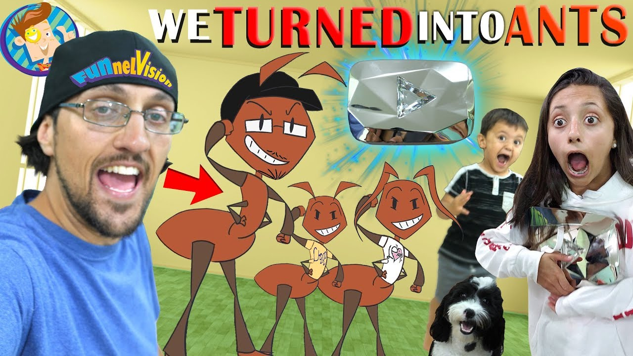 FUNnel Family turns into ANTS (FV Vlog Vision) watch and download videoi make live statistics