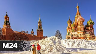 Фото В Москве появилсь снежные достопримечательности - Москва 24