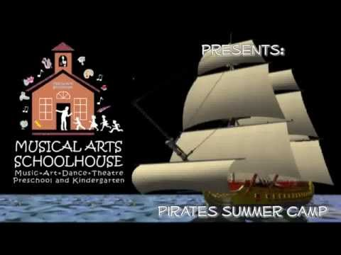 Summer Camps - Pirates Week - Musical Arts Schoolhouse