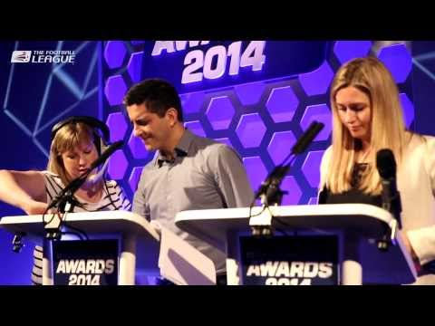Build up to The Football League Awards 2014