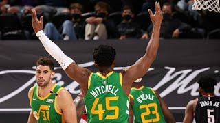 Mitchell 37 Pts! Jazz Outscore Blazers 40-19 In 3rd! 2020-21 NBA Season