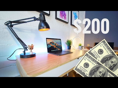 The Best Desk Setup for $200!