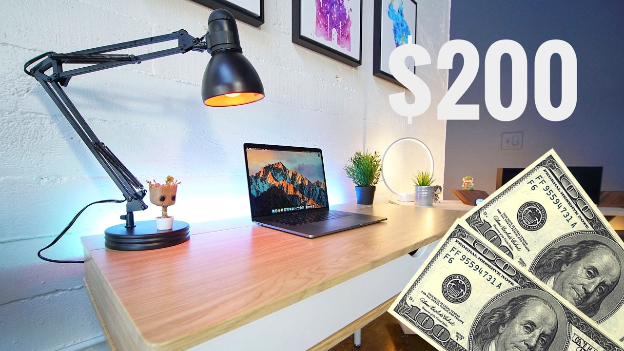 & The Best Desk Setup for $200! - YouTube
