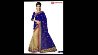 Online shopping sale on Designer sarees,indian sarees sale in india,surat sarees parisworld.in