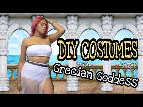 Womens Sexy Greek Goddess Costumes For Adult Roleplay