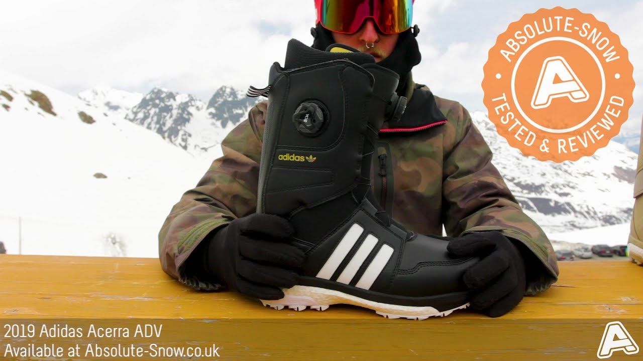 on sale 3794a 99877 2018  2019  Adidas Acerra ADV Snowboard Boots  Video Review