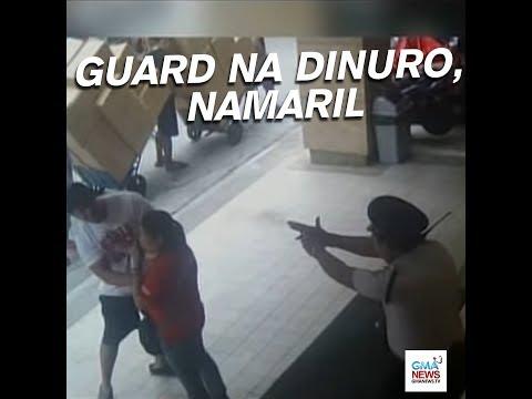Security guard, namaril ng isang negosyante