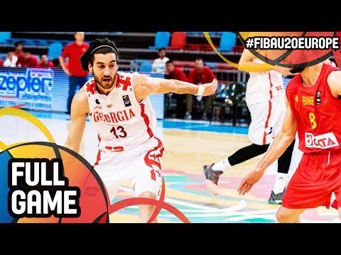 Georgia v MKD - Full Game - FIBA U20 European Championship 2017 - DIV B