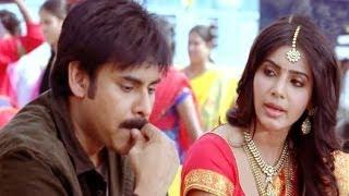 Attarintiki Daredi Scenes    Fighting Scene In Railway Station - Pawan Kalyan, Samantha