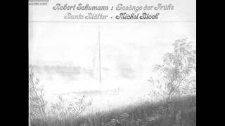 MICHEL BLOCK plays SCHUMANN Gesänge der Frühe Op.133 (1977)