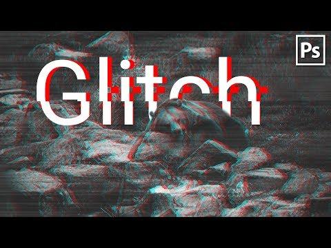 GLITCH ЭФФЕКТ В PHOTOSHOP