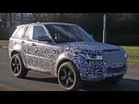 All New 2018 Land Rover Defender Spy Shots