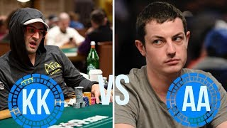 Can Antonio Ever Fold Kings Against Dwan Pre-Flop?