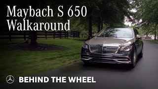 Mercedes-Benz Maybach S650 Walkaround