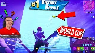 How I got featured on the Official Fortnite World Cup Livestream...