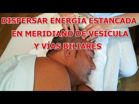 DISPERSAR ENERGÍA ESTANCADA EN EL MERIDIANO DE VESÍCULA Y VÍAS BILIARES