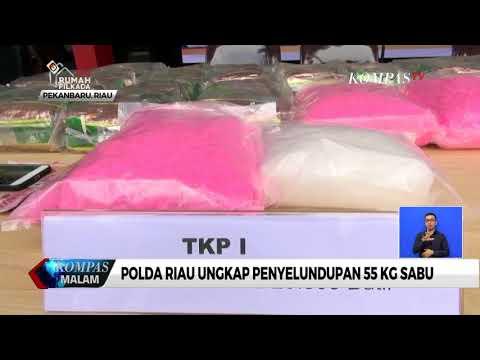 Polda Riau Ungkap Penyelundupan 55 Kg Sabu Mp3