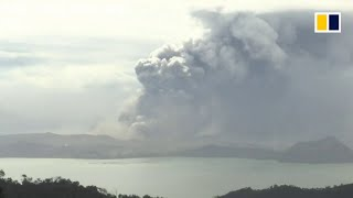 LIVE: Taal Volcano in the Philippines spews ash as thousands evacuate