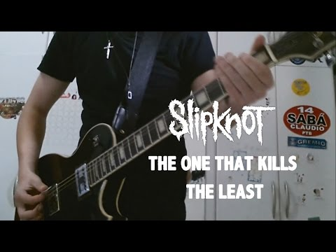 Slipknot  The One That Kills The Least Guitar  w Solo