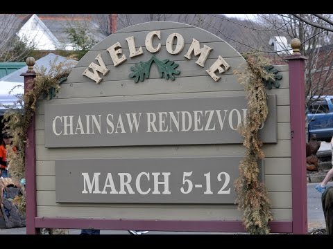 Chainsaw Rendezvous - Ridgway Pa. 2016