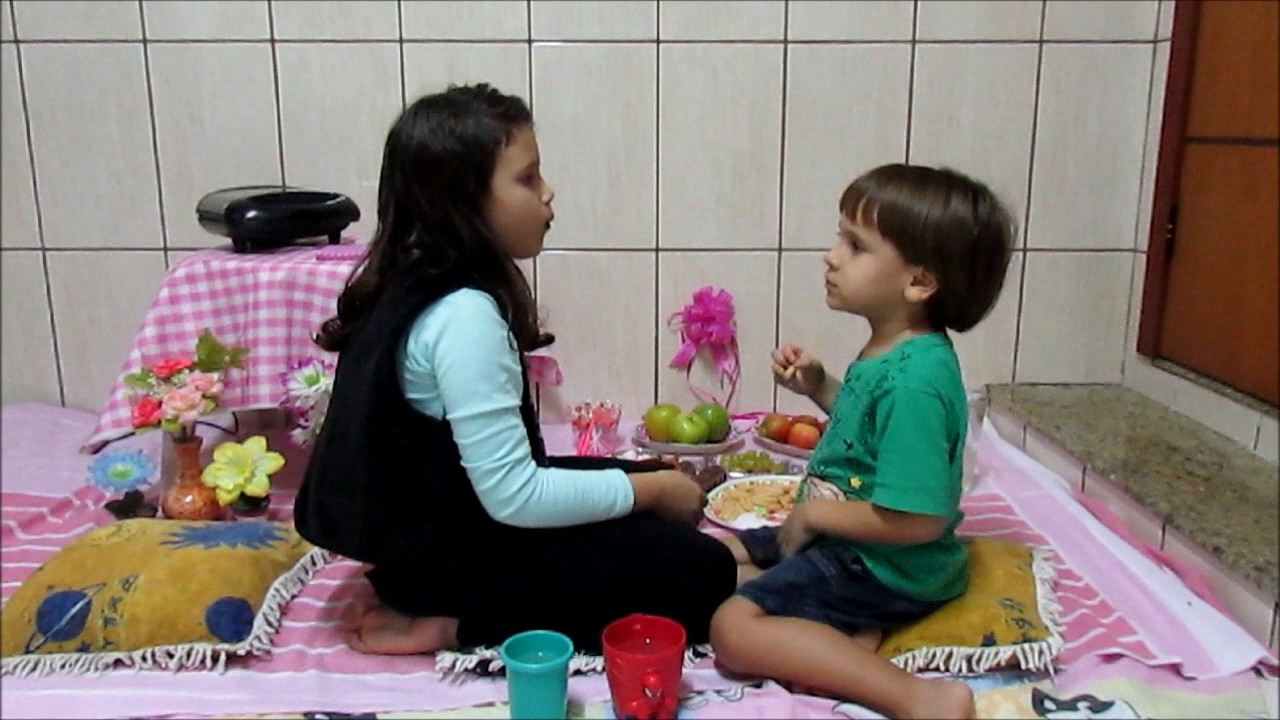 Dicas para fazer piquenique dentro de casa 🏠 - YouTube