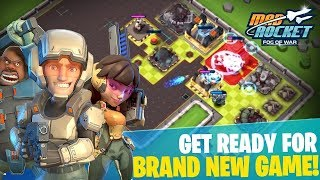 BETTER THAN CLASH OF CLANS? | Mad Rocket: Fog of War | New & Unique Base Building Game