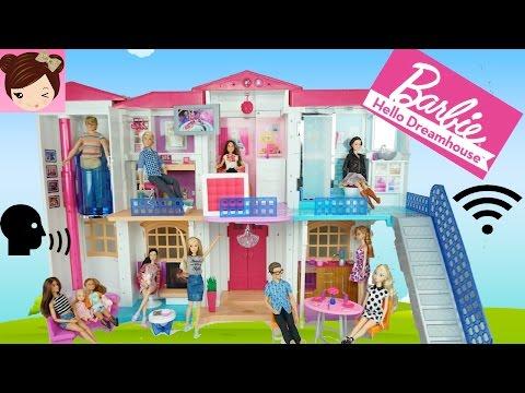 Barbie Hello DreamHouse Tour - Voice Activated Smart Doll House