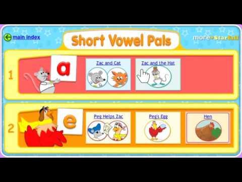 """Short Vowel Pals!"" A Starfall™ Movie From Starfall.com"