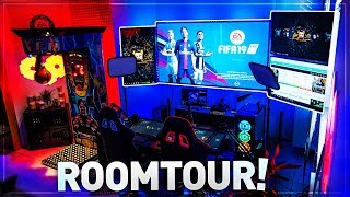 Unser ULTIMATIVES GAMING YOUTUBE-STUDIO nach 1 JAHR 🔥😱 EPIC ROOMTOUR !!