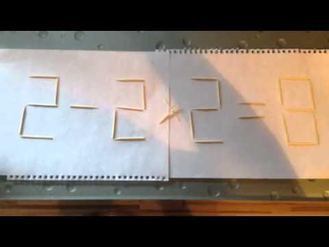 Ребусы Глобусы 4 выпуск (2-2х2=8)
