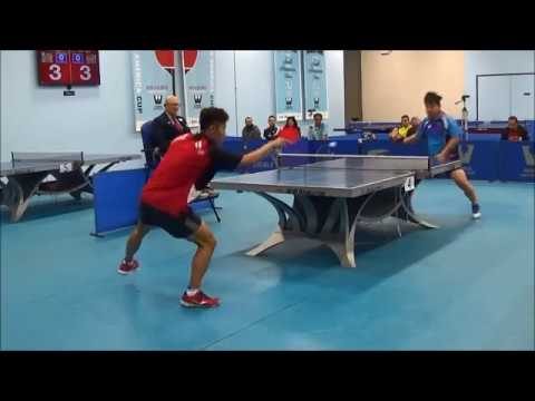 Westchester Table Tennis Center January 2019 Open Singles Final - Eugene Wang Vs Kaden Xu