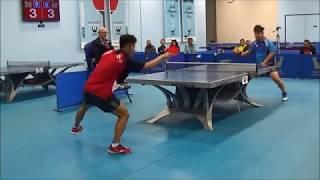 Westchester Table Tennis Center January 2019 Open Singles Final - Eugene Wang vs Kaden Xu