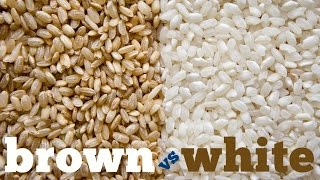 White Rice Vs Brown Rice - Which Is Better?!!