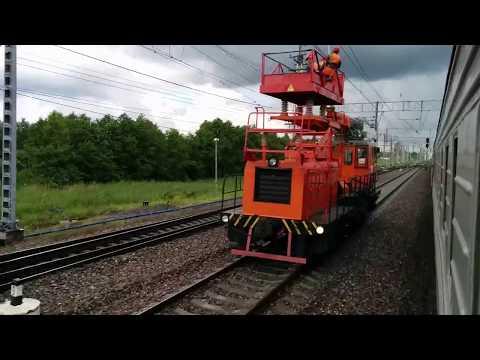 Поездом через Малую Вишеру / Train Travel Through Malaya Vishera (Russia)