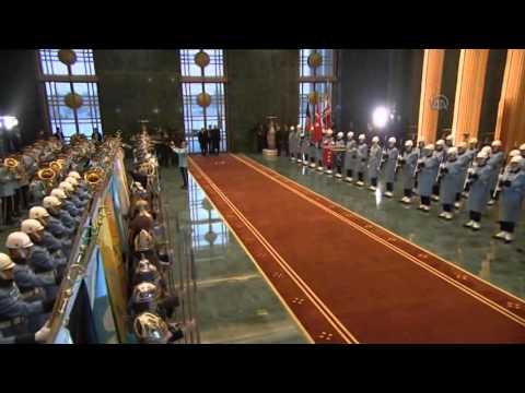 President of Afghanistan Ashraf Ghani Ahmadzai in Turkey