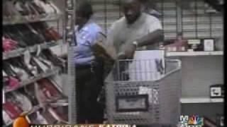 NOPD Looting a Wal-Mart After Katrina