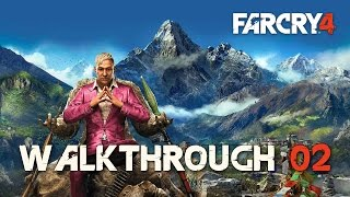 Far Cry 4 100% (PC) Walkthrough 02 Hard Difficulty (Mission 02) The Wolves' Den