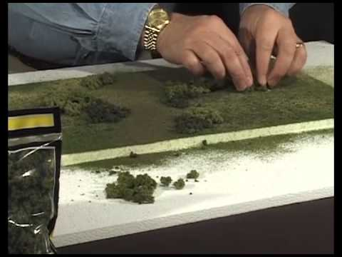 Model Scenery Made Easy – Modeling Ground Cover | Woodland Scenics