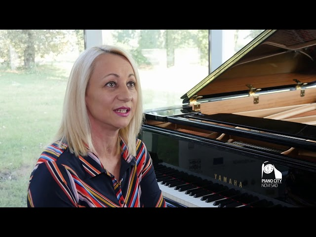 Piano City Novi Sad: Jelena Simonović Kovačević
