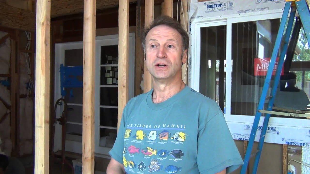 США 469: на стройплощадке мы разговариваем с контрактором-электриком Аркадием о местных стандартах