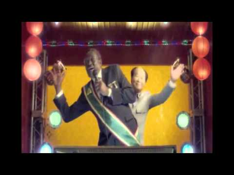 "Banned Nando's Mugabe Commercial : ""Last dictator standing""."